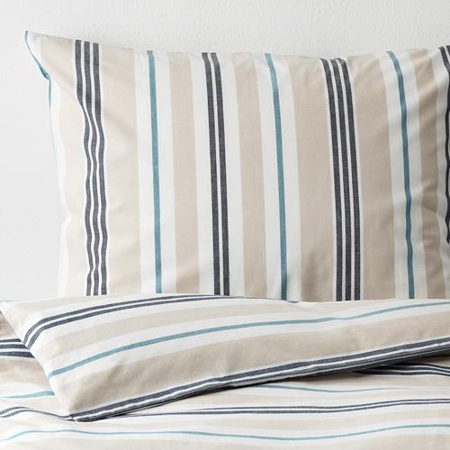 SMALSTÄKRA funda nórdica para cama individual  y funda almohada, 152 hilos