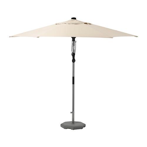 BETSÖ/LINDÖJA sombrilla con soporte