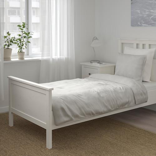 BERGPALM funda nórdica y funda almohada, 118 hilos, 80 y 90cm
