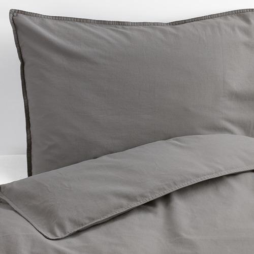 ÄNGSLILJA funda nórdica y funda almohada, 125 hilos, 80 y 90cm