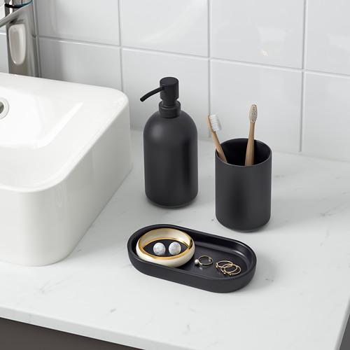 GANSJÖN juego para baño 3 piezas