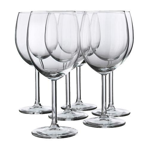 SVALKA copa de vino, 6 piezas