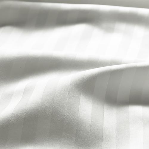 NATTJASMIN funda nórdica y 2 fundas almohada, 310 hilos, 140-160 y 180cm