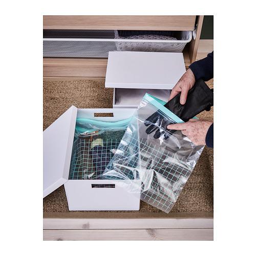 ISTAD bolsa reutilizable cierre, 30 unidades