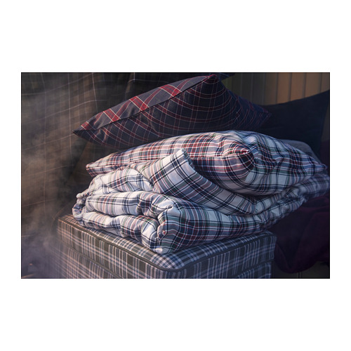 MOSSRUTA funda nórd y 2 fundas almohada