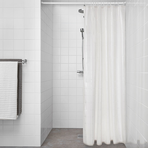KLOCKAREN cortina ducha