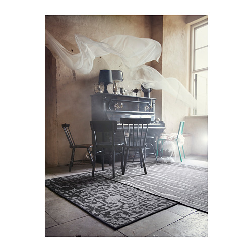 GLUMSÖ alfombra, lisa, 133x195cm