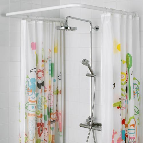 VIKARN barra para cortina de baño