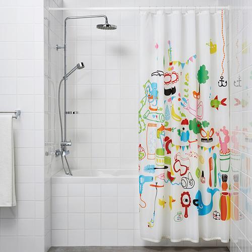 BOTAREN barra para cortina de baño