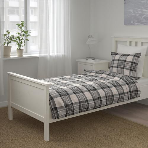 SMALRUTA funda nórdica y funda  almohada, 152 hilos, 80 y 90cm