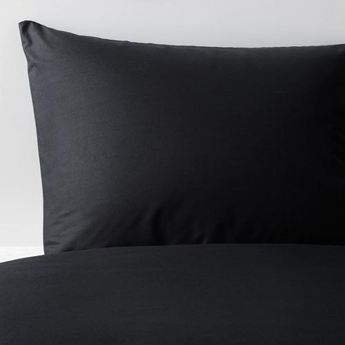 DVALA Funda nórdica para cama individual y funda almohada,  152 hilos