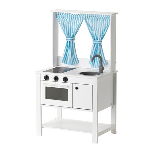 SPISIG cocina mini con cortinas