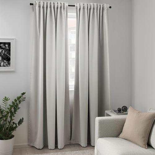 MAJGULL cortina, 1 par, 145x300cm