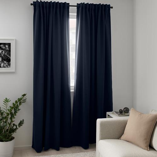 MAJGULL cortinas, par