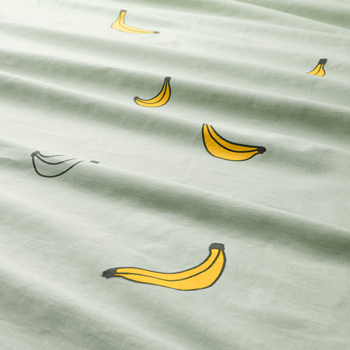 VÄNKRETS funda nórdica y funda almohada, 150x200cm y 50x60cm, 152 hilos