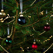 VINTER 2020 bola árbol Navidad, juego de 25, 3,5cm de diámetro