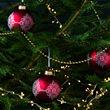 VINTER 2020 bola árbol Navidad, juego de 3, 8cm de diámetro