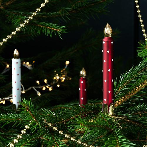 VINTER 2020 adorno navidad, juego de 3, 11cm de altura