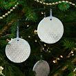 VINTER 2020 adorno árbol navidad, juego de 3,7cm de diámetro