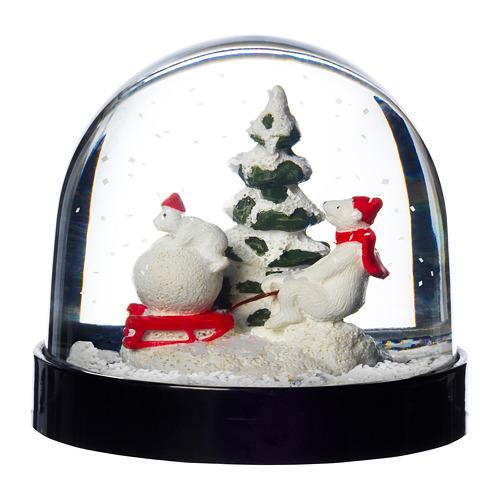 VINTER 2020 bola de nieve con motivos de navidad, 8cm de altura