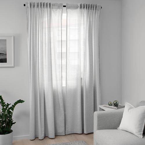 HANNALILL cortina, 1par