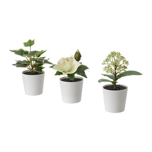 FEJKA planta artificial + maceta j3