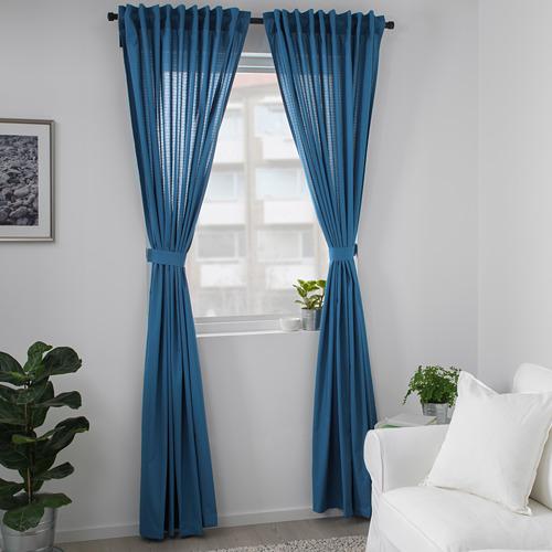 AMILDE cortinas &alzapaños, 1par