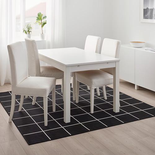 SVALLERUP alfombra para interior y exterior, 200x200cm