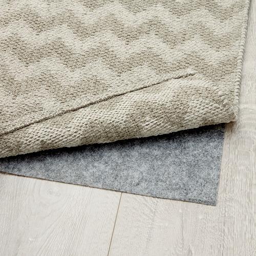 BREDEVAD alfombra, lisa, 75x150cm