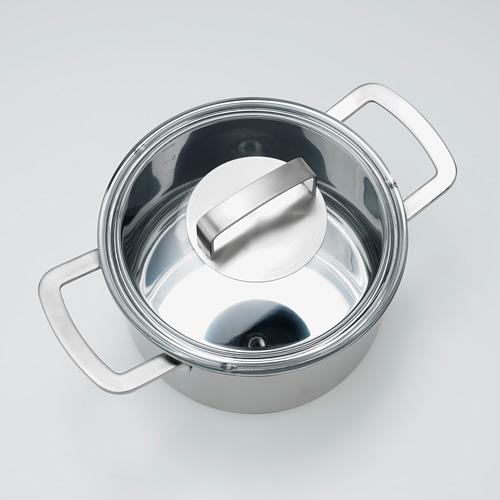 IKEA 365+ olla con tapa, 3 litros