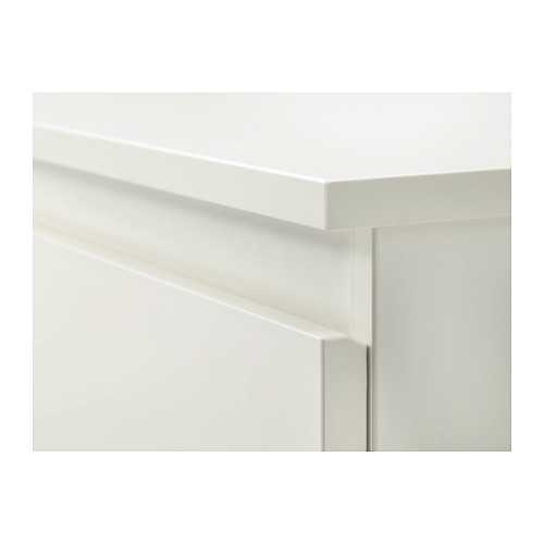 KULLEN cómoda horizontal de 6 cajones, 140x40x72cm