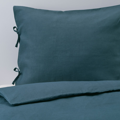 PUDERVIVA funda nórdica y funda almohada, 104 hilos, 80 y 90cm