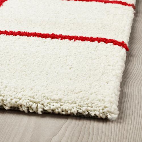 SIMESTED alfombra, pelo largo, 200x200cm