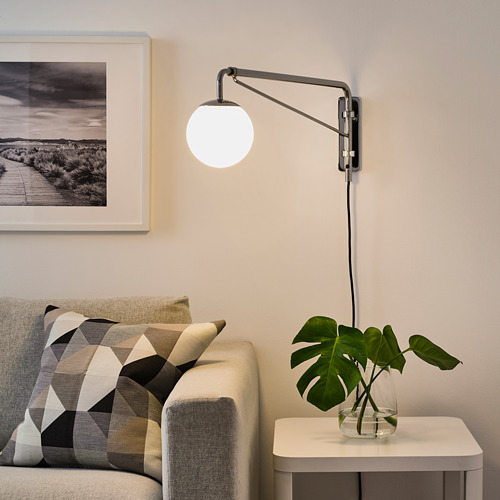 SIMRISHAMN lámpara pared brazo pivotante