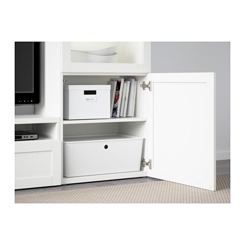 BESTÅ  combinación mueble TV con 2 cajones y 3 puertas