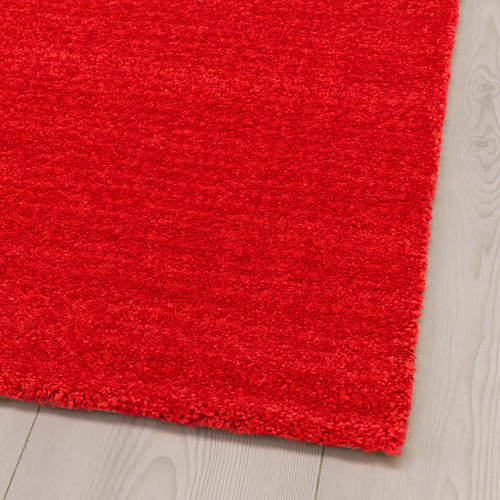 LANGSTED alfombra, pelo corto, 133x195cm