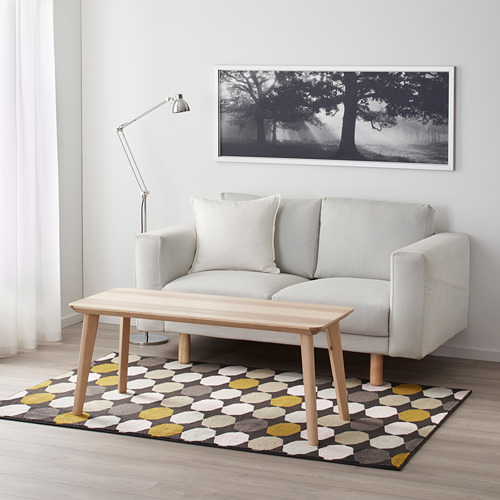TORRILD alfombra, pelo corto, 133x195cm