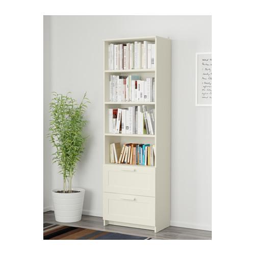 BRIMNES librería, 60x35x190cm