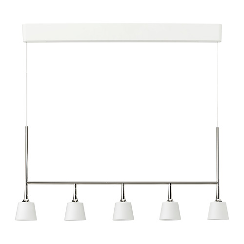 TYBBLE lámpara techo LED integrada 5 luces