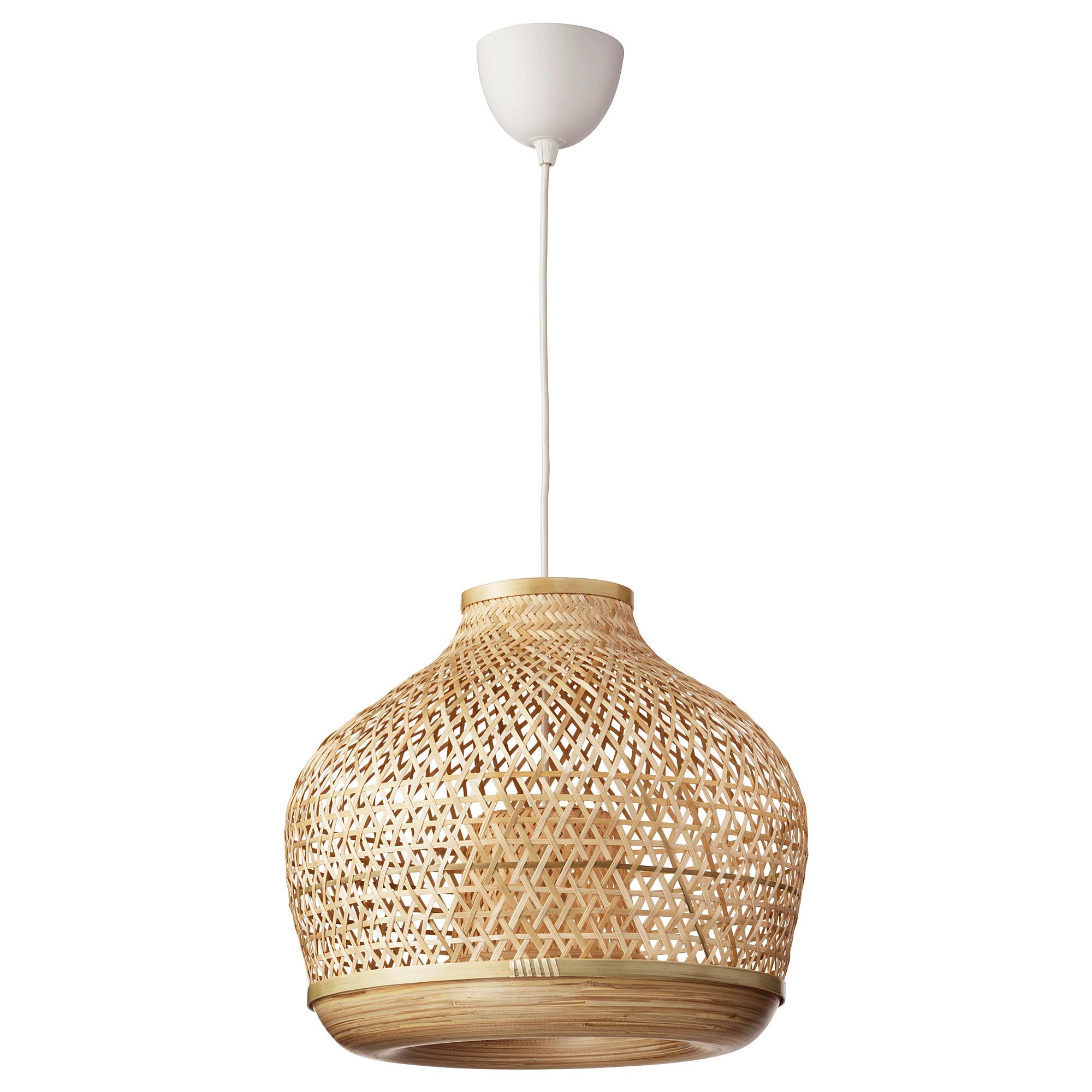 MISTERHULT Pendant lamp, bamboo, 45 cm IKEA in 2020