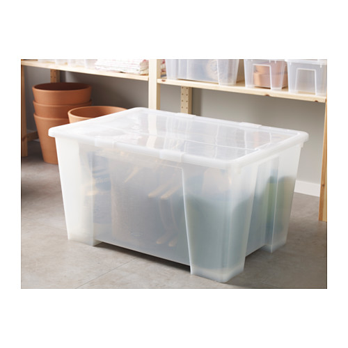 SAMLA cierres para caja de 130 litros