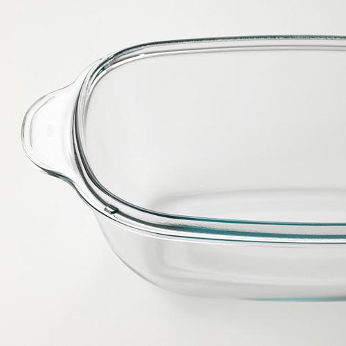 BUREN fuente horno/servir con tapa, 26x42cm