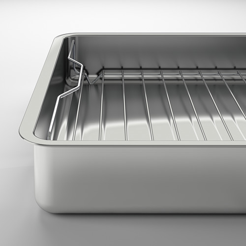 KONCIS molde para horno con rejilla, 32x40cm