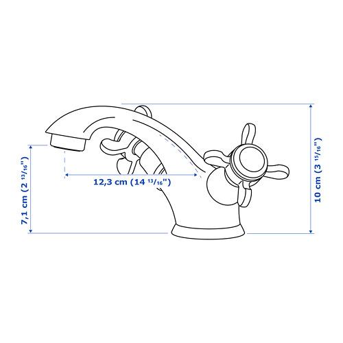 RUNSKÄR grifo lavabo c/filtro