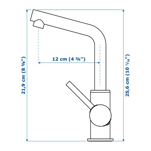 LUNDSKÄR grifo con filtro