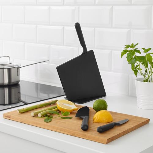 JÄMFÖRA soporte con 3 cuchillos