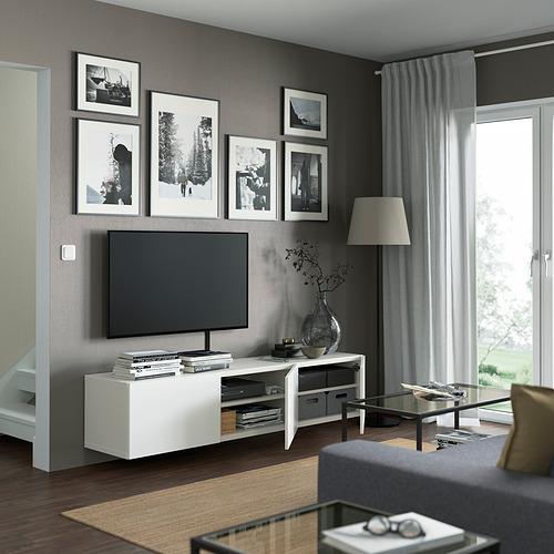 BESTÅ mueble TV con puertas