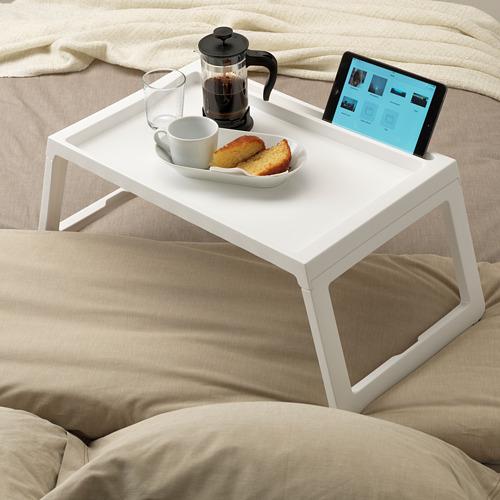 KLIPSK bandeja de cama, 36x56cm, alto 26cm