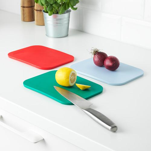 IKEA 365+ tabla de cortar, 3 unidades