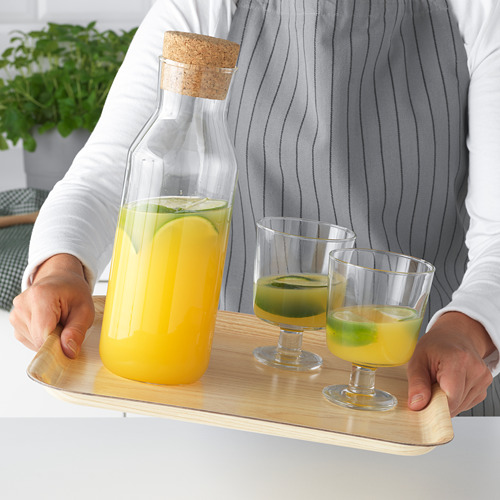 FÖRMEDLA bandeja con antideslizante